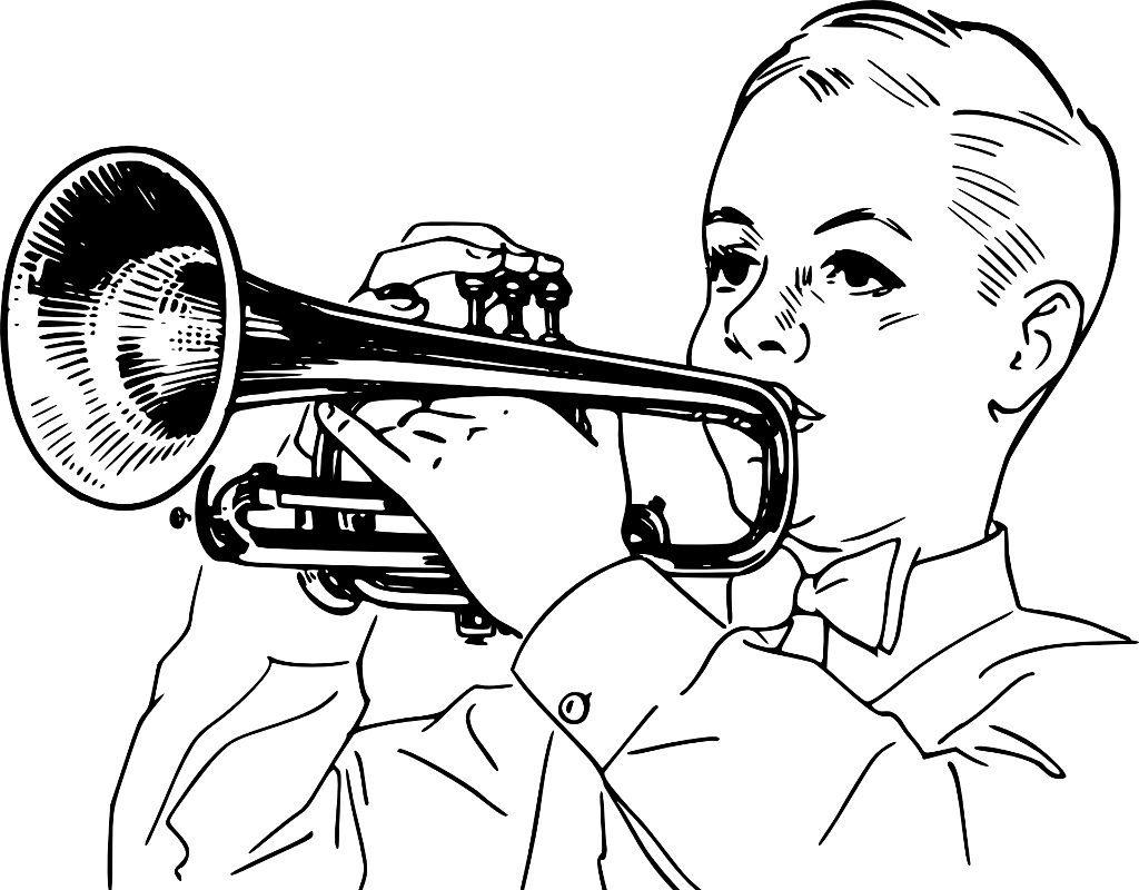 trompete-kind
