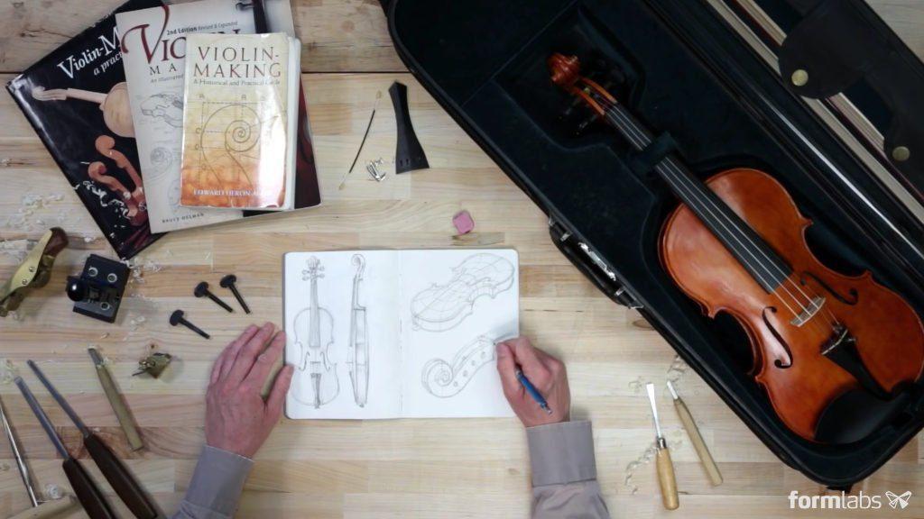 3D-Violine